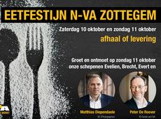 Eetfestijn N-VA Zottegem